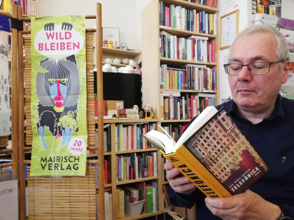 """Kurt Lhotzky liest """"Telefónica"""""""