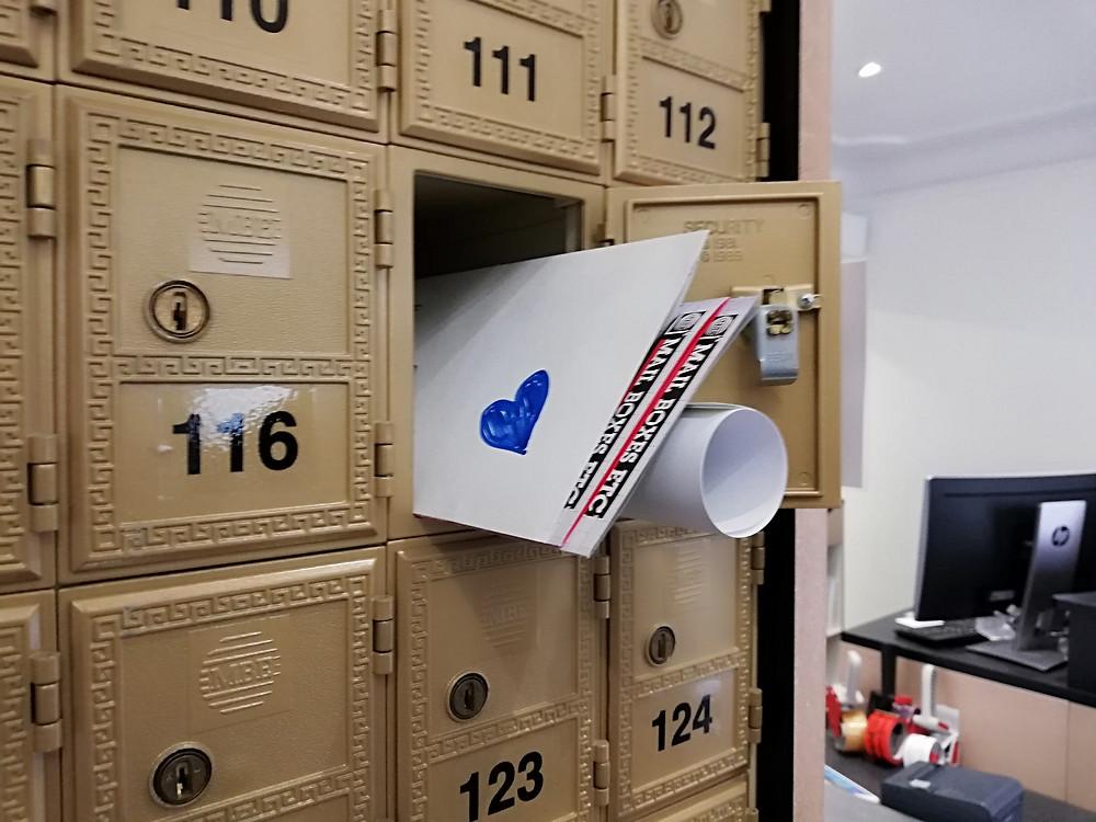 Pakethotel, Mail Boxes Etc, 1020