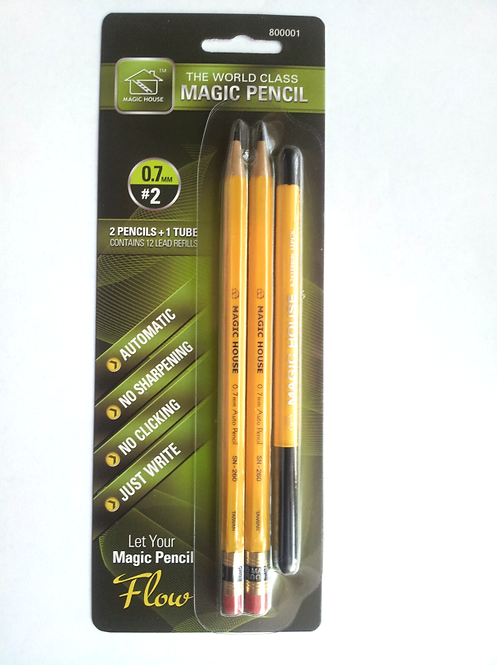 2+1 Auto-Feed Pencils Package