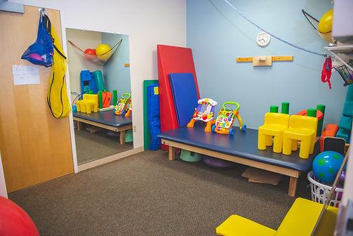 pediatric therapy room