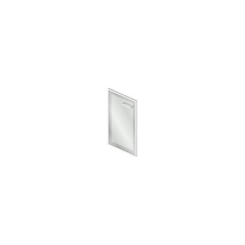 Gr-03.1R/L Дверь стеклянная в рамке МДФ