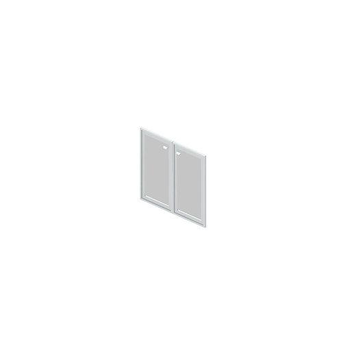 G-01 Двери стеклянные в раме МДФ