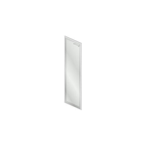 Gr-04.1R/L Дверь стеклянная в рамке МДФ