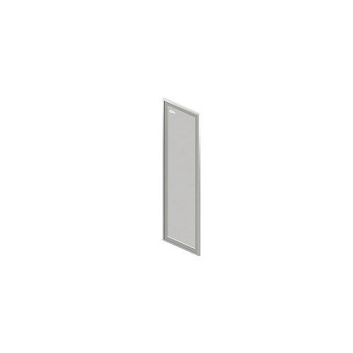 О-08.1R/L Дверь стеклянная в профиле, правая/левая