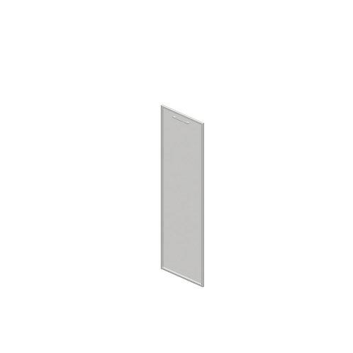 V-02.1L Дверь стеклянная тонированная