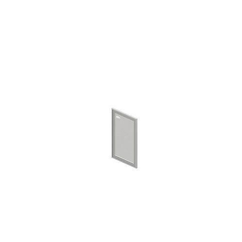 О-07.1R/L Дверь стеклянная в профиле, правая/левая