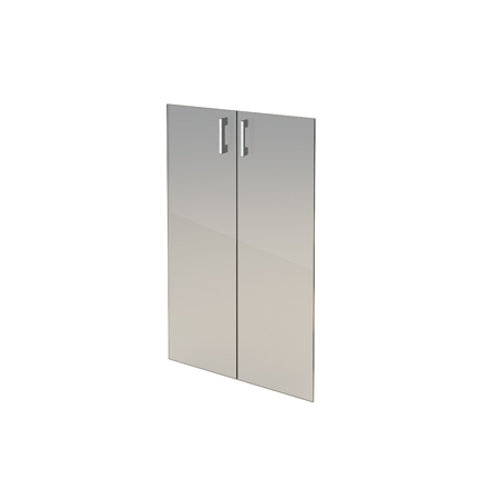 Комплект стеклянных дверей А-стл304 тон. к широкому шкафу А-304 (71х115)