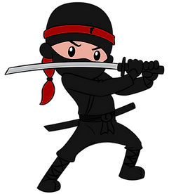 Ninaj med sværd