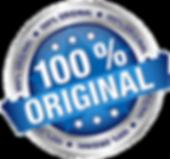100% original badge