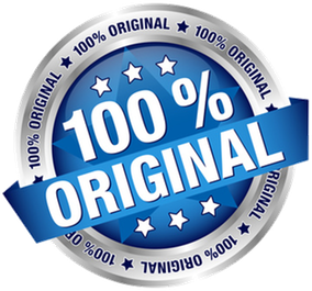 100% original badge