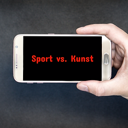 Sport vs. kunst artikel