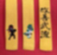 Bæltetyper i Kaizen Bu Ryu