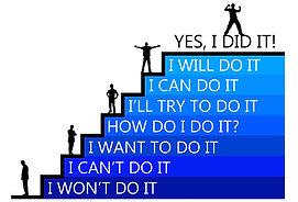 climbing the latter of achievement