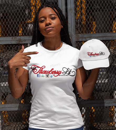 SLM White T-Shirt & Hat for Women