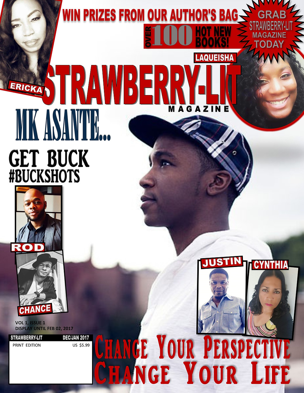 Strawbery-Lit Magazine Vol 1 Issue 1