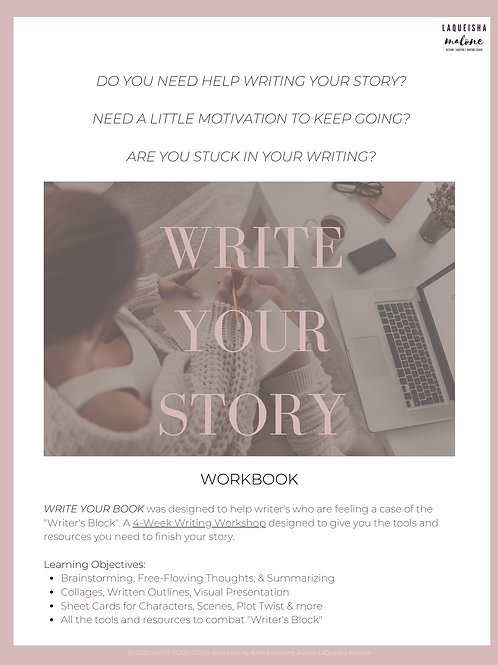 """Write Your Story"" Workbook"