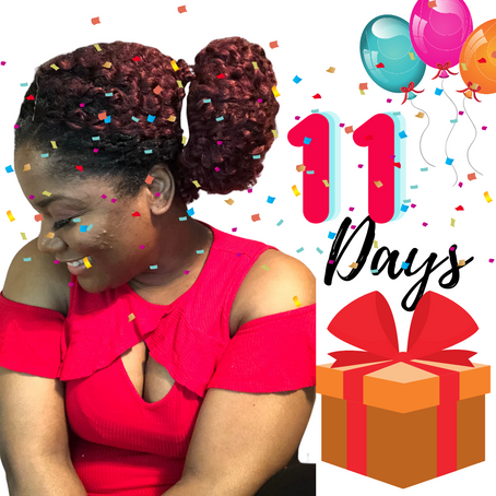 11 Days to Go! | LaQueisha Malone