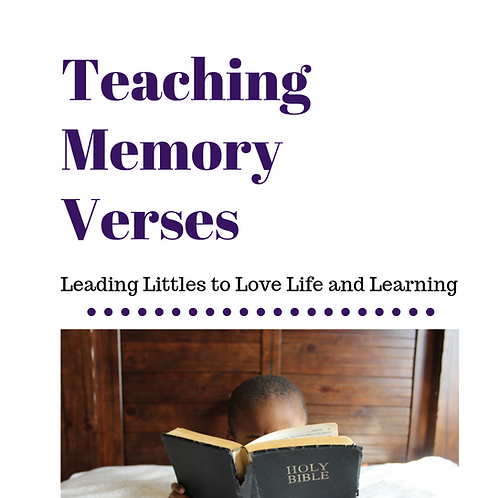 Teaching Memory Verses FREE DOWNLOAD with code