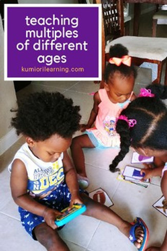Teaching Multiples of Different Ages
