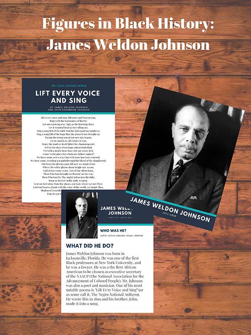 Figures in Black History: James Weldon Johnson