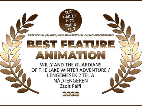 Filmes díjat nyert a Lengemesék második része