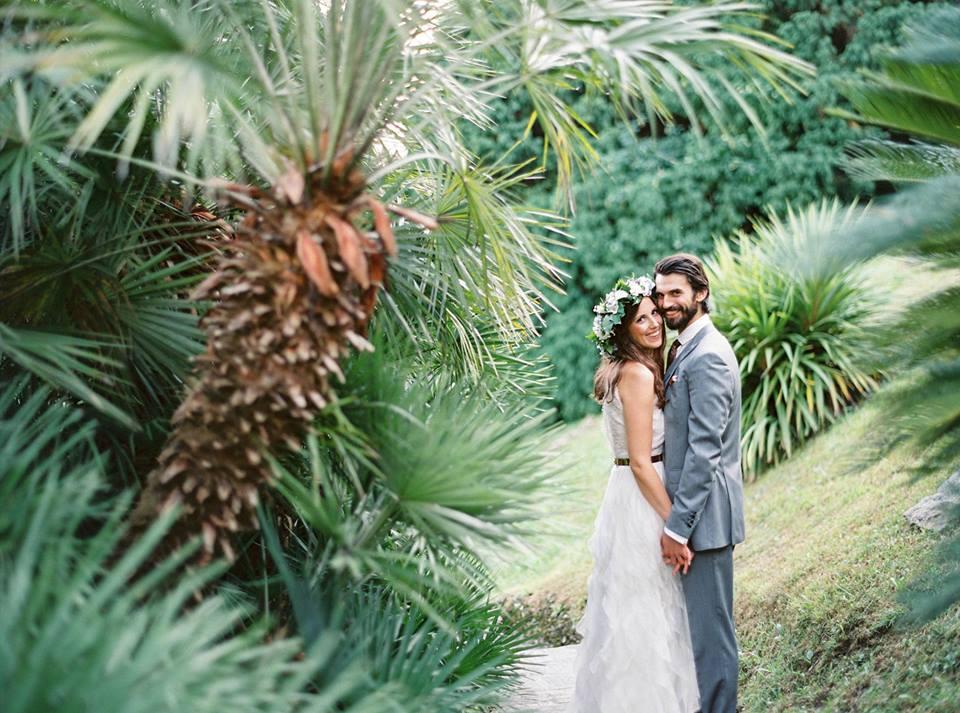 Hochzeiten Blumenkranz Haarschmuck