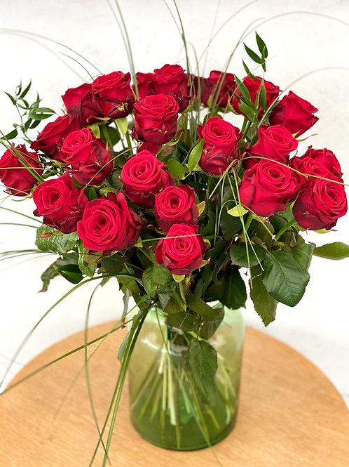 Mit Blumen Liebe schenken