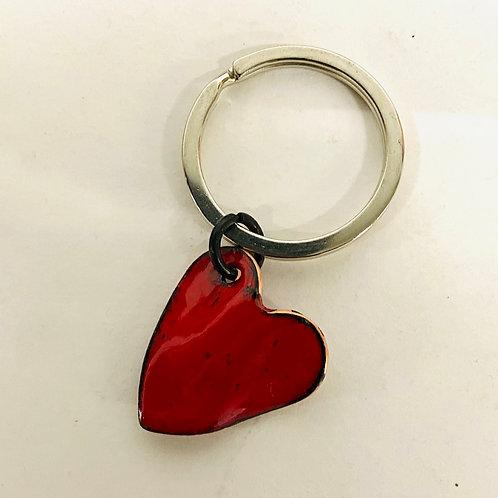 Enamel Heart Charm