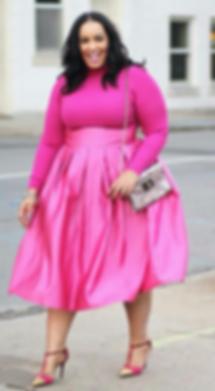 Iambeautycurve, Rochelle Johnson, Glamour, Style Watch, Linda Rowe Thomas, Romas by Linda Rowe Thomas