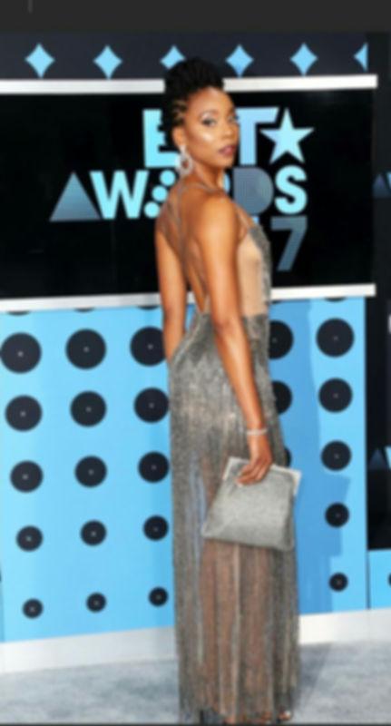 Linda Rowe Thomas, Women's Fashion, Romas by Linda Rowe Thomas, Erica Ash, BET Awards