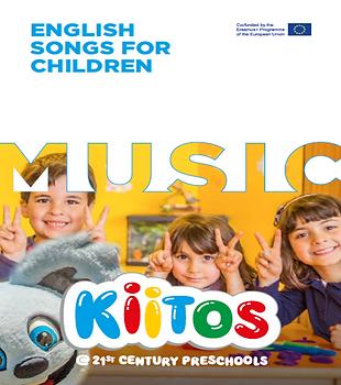 English Songs for Children Capa do livro