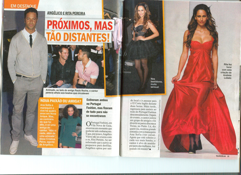 Rita Pereira faz Furor
