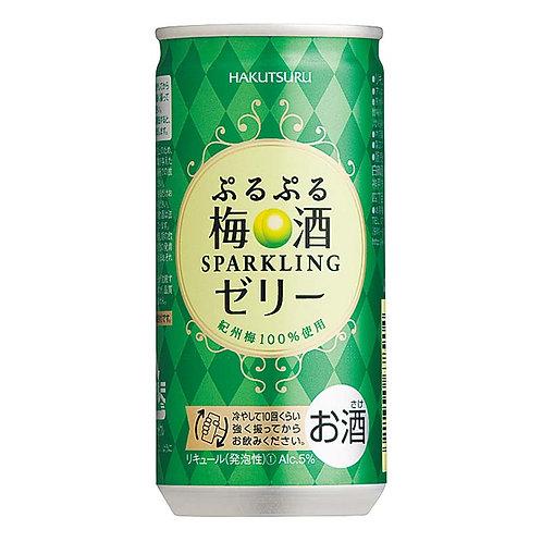 白鶴清酒 寶貝寶貝梅果酒 Purupuru Ume 190ml