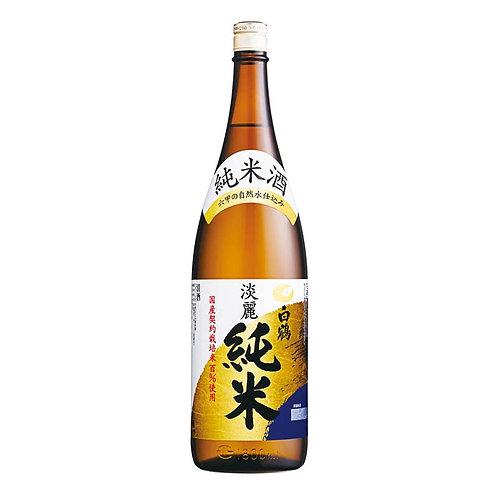白鶴清酒 淡麗純米酒 Tanrei Junmai 1.8L