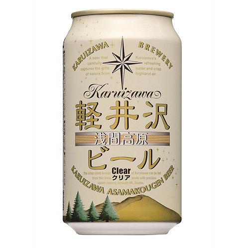日本輕井沢清啤酒 Karuizawa Asamakougen Clear Beer 350ml