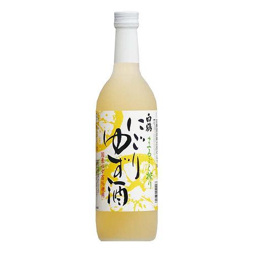 白鶴清酒 柚子濁酒 Nigori Yuzu 720ml