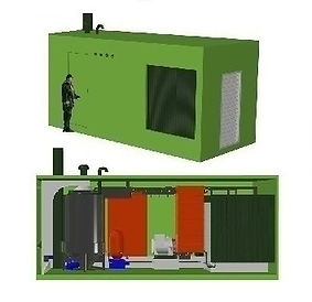 Теплоэлектростанция 200 кВт 100 кВт