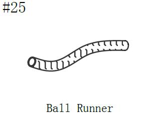390001BR Carlyle Ball Runner