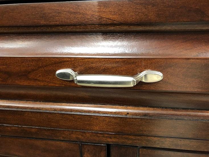 100990 Bar Door Handle/Brushed Steel
