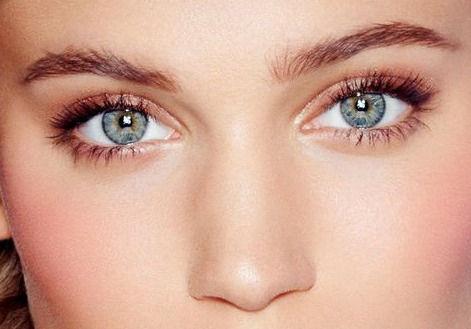 yeux naturels