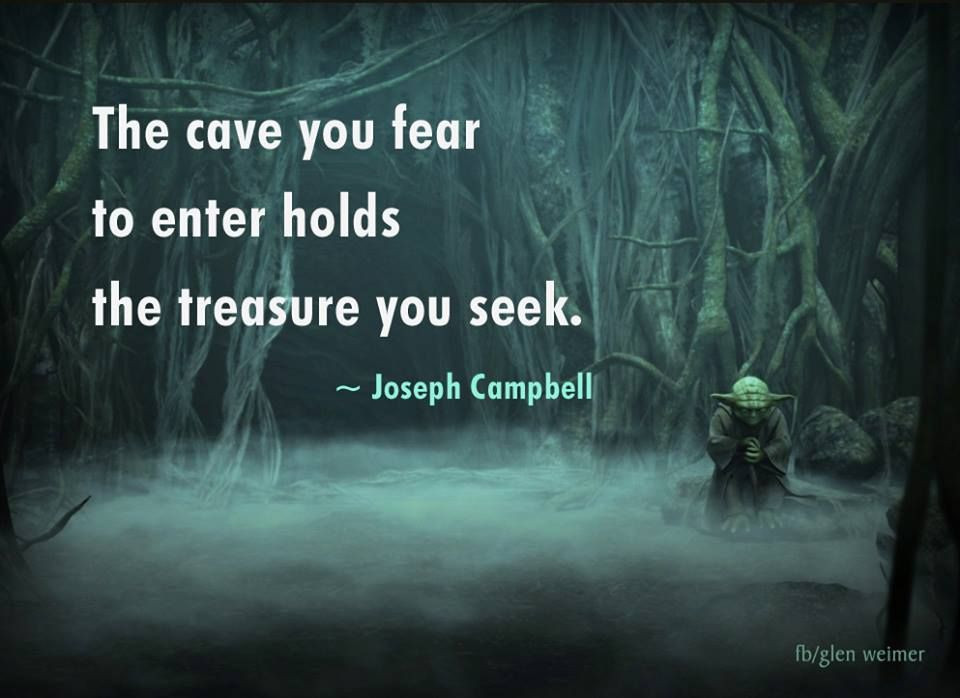 how to overcome fear joseph campbell