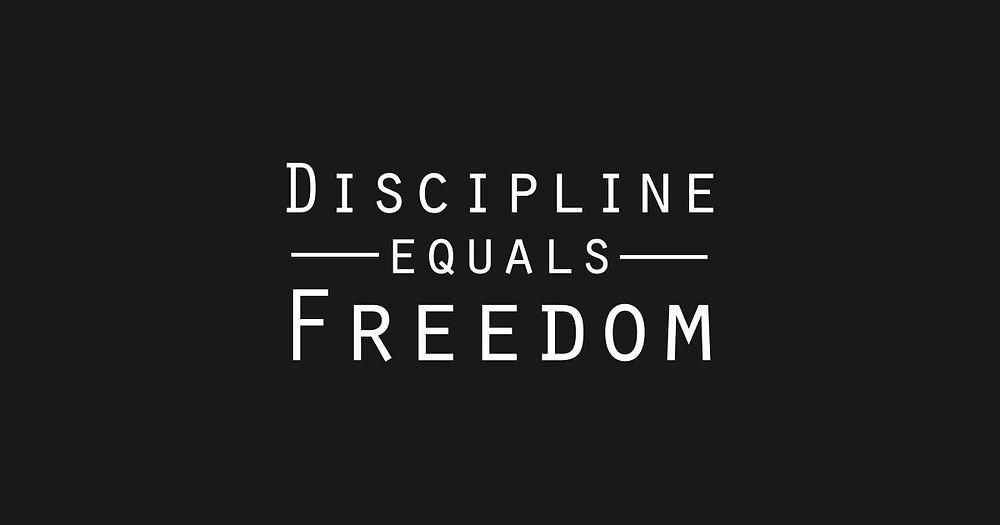 how to build discipline