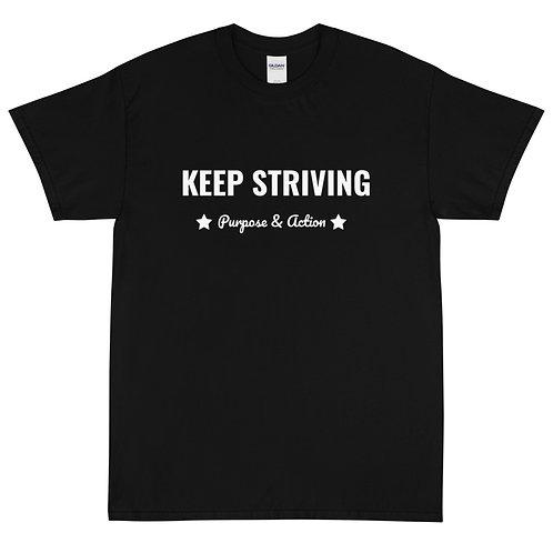 Keep Striving T-Shirt (Black)