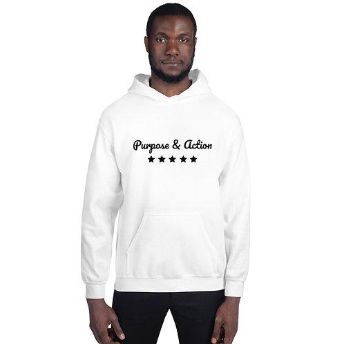 P&A Five Star Hoodie (White)
