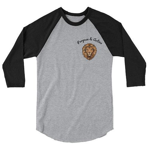 P&A Classic Baseball Shirt (Black/Grey)