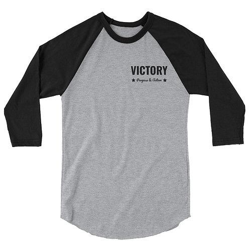 Victory 3/4 Sleeve (Black/Grey)