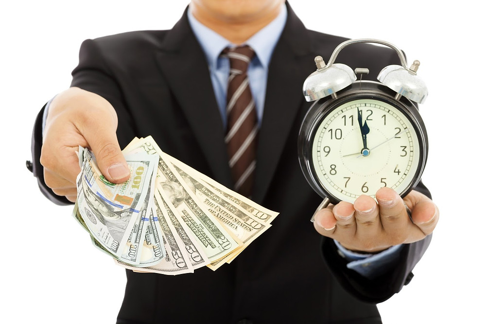 time and money invest in yourself
