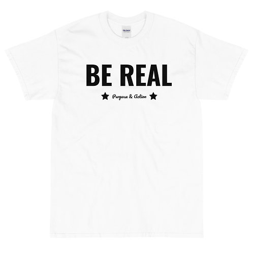 BE REAL T-Shirt (White)