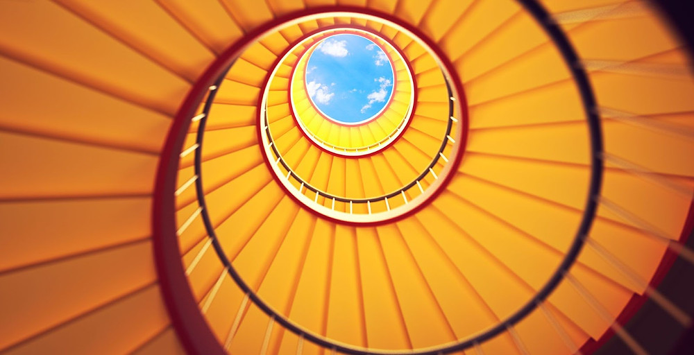 upward spiral momentum