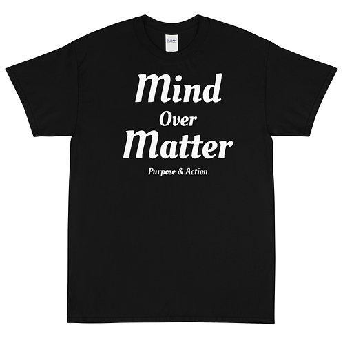 Mind Over Matter T Shirt (Black)